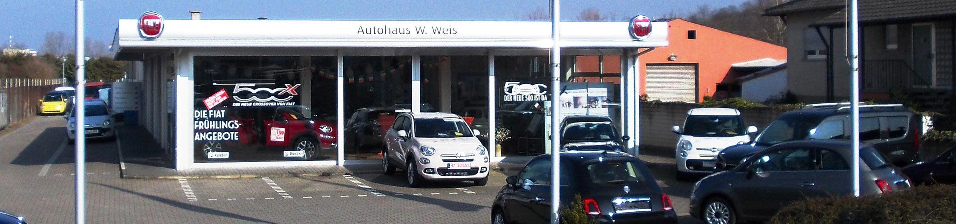 Autohaus Willi Weis e.K. in Gau-Algesheim - Fiat, Fiat Professional, Lancia & Mopar Service